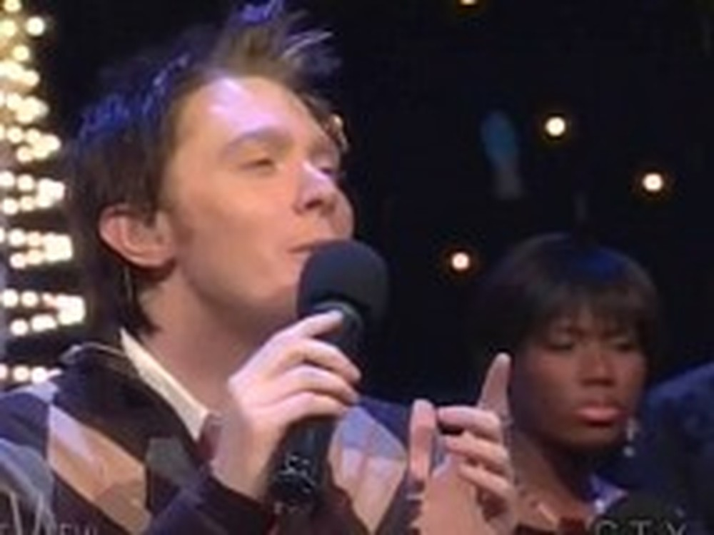Clay Aiken Sings a Wonderful Rendition of Mary Did You Know