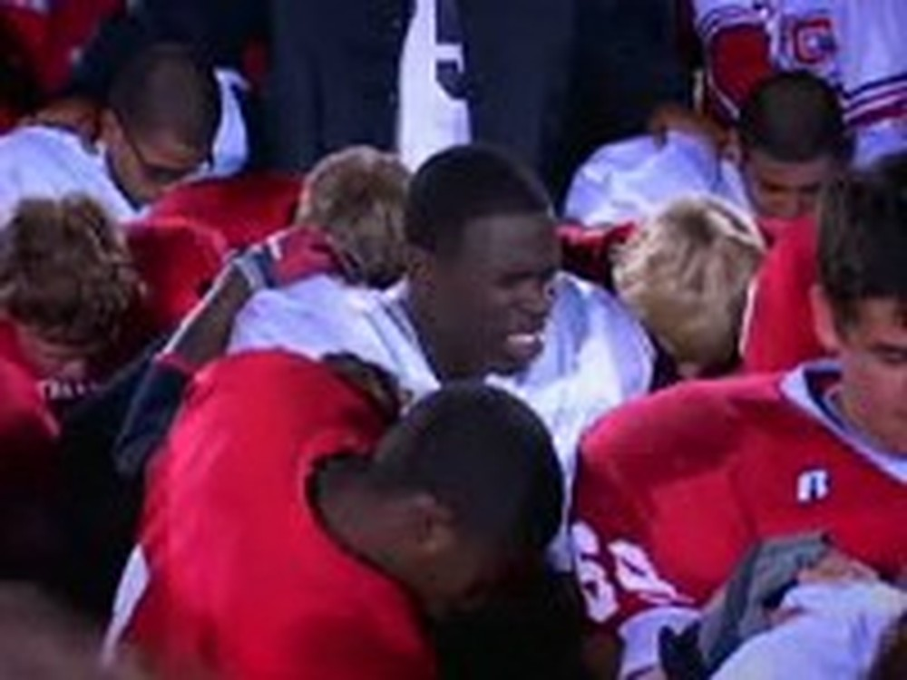 An Unforgettable Football Game Gives Hope
