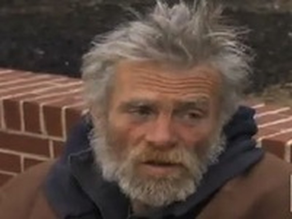 Homeless Man Finds an Envelope of Money and Returns It