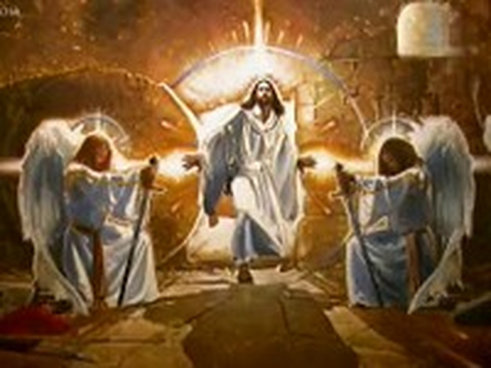 Amazing Artist Paints the Resurrection of Jesus Christ