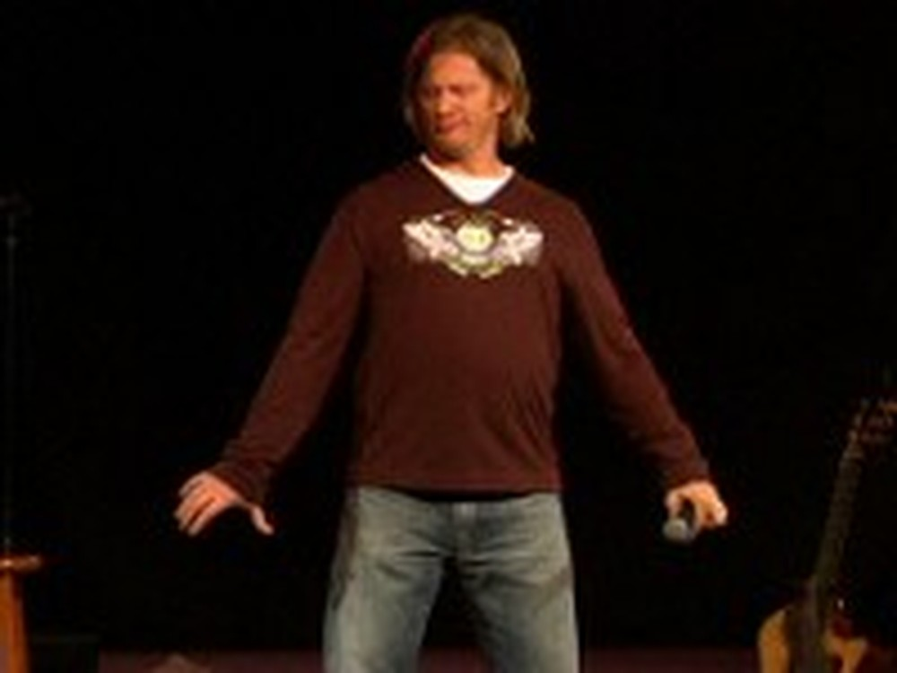 Tim Hawkins on Holding Hands in Church - Hilarious