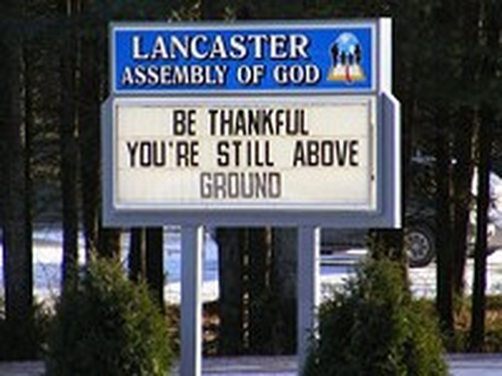 More Funny and Creative Church Signs - Part 5