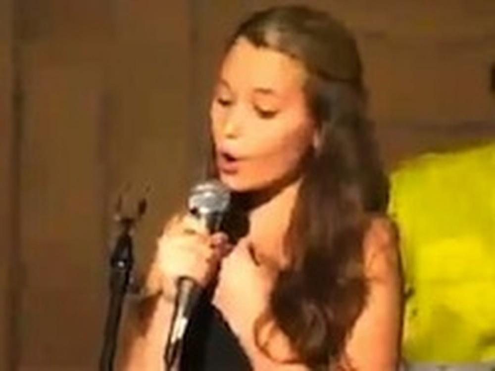 11 Year Old Girl Beautifully Sings O Holy Night