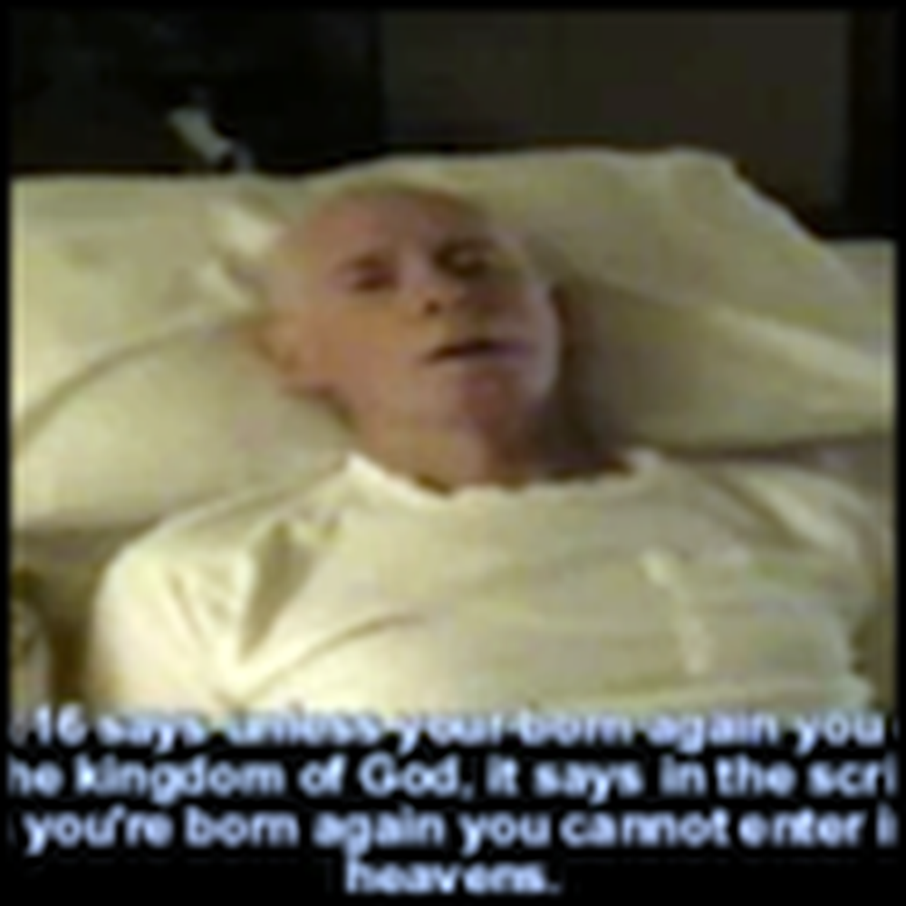 Dying Man Records a Message from God as his Last Words