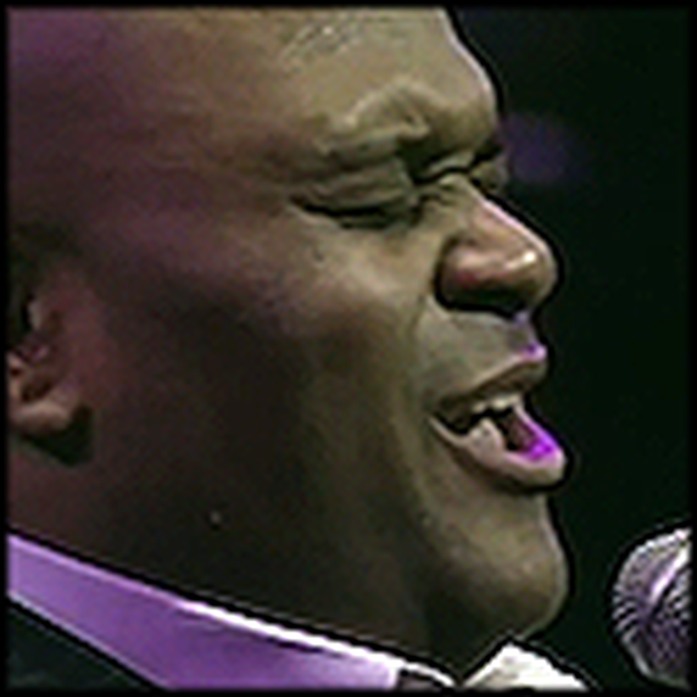 Ruben Studdard Sings Amazing Grace with a Choir
