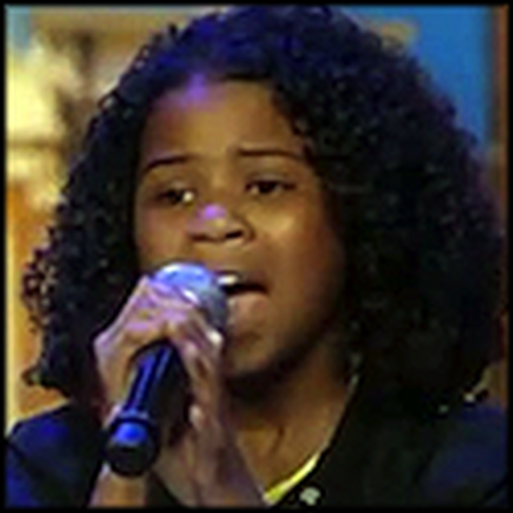 The Voice of 11 Year Old Aliyah Kolf is Just Beautiful