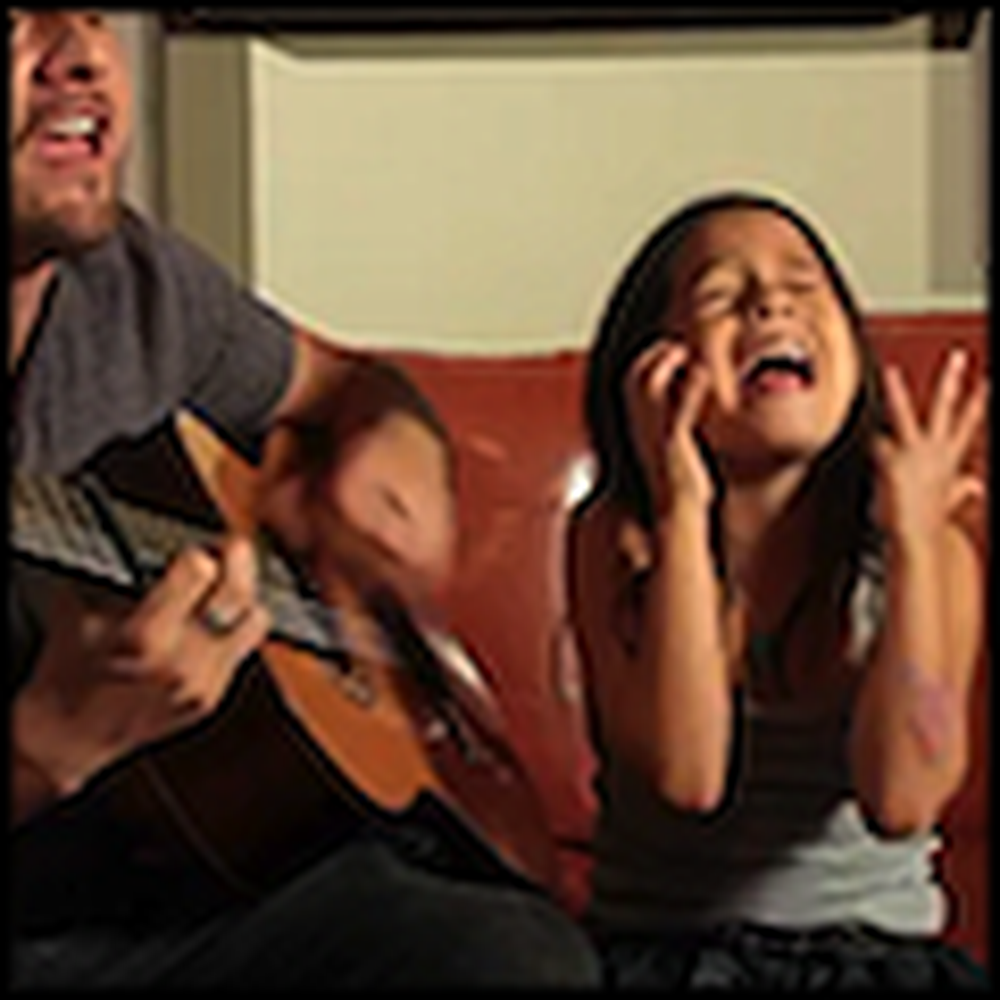 Dad and his Cute Daughter Cover Another Song Together
