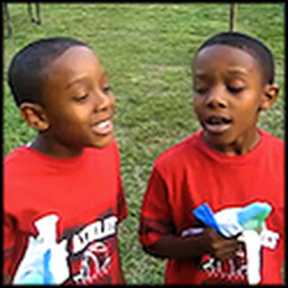 Two Little Boys Will Floor You With Their Gospel Singing