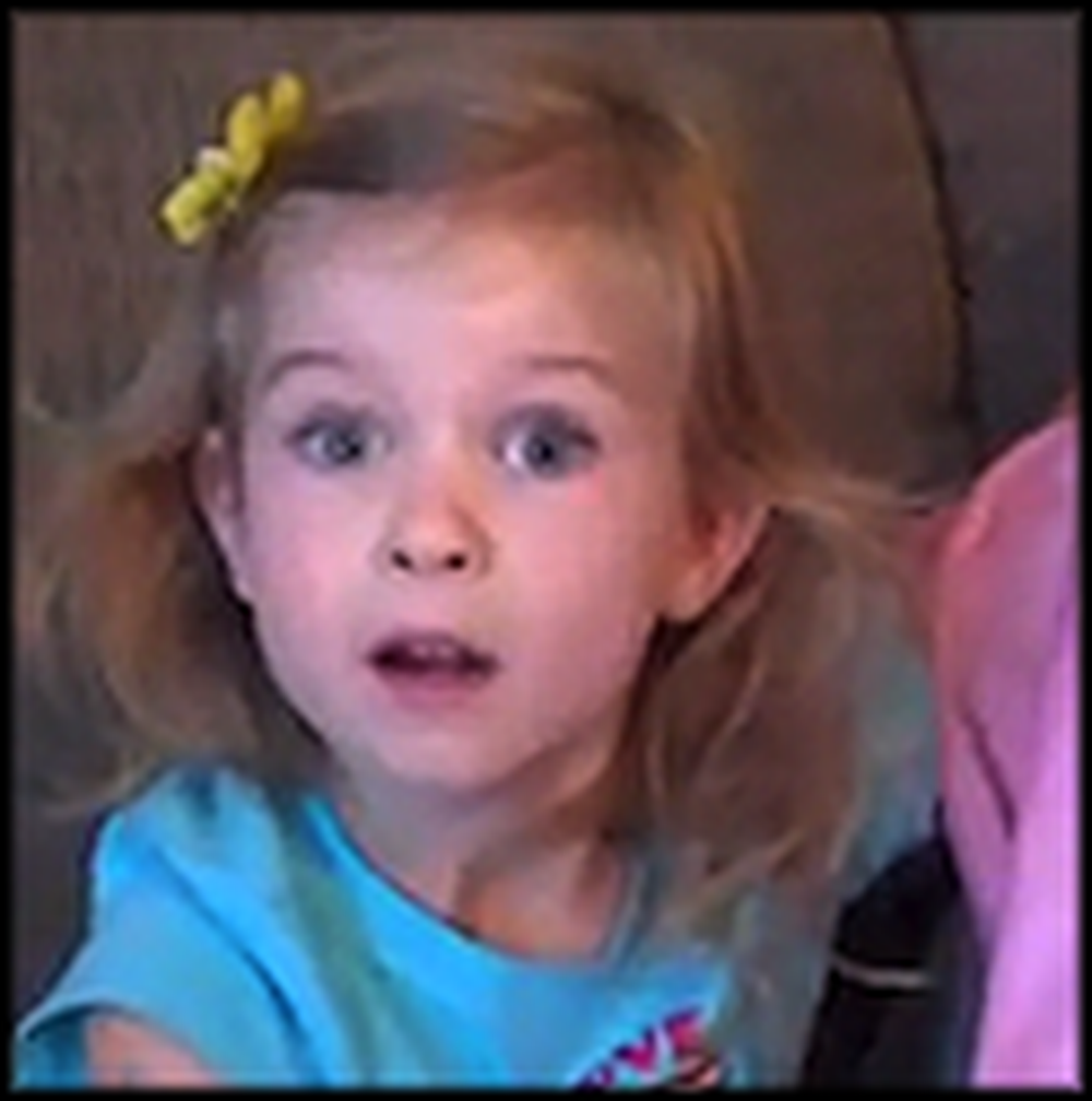 Little Girl's Reaction to Going to Disney Land Will Melt Your Heart