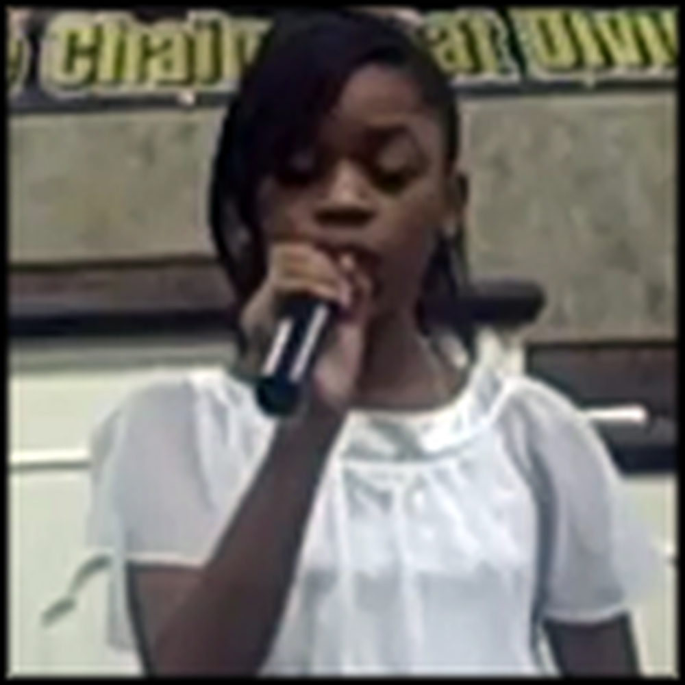 Young Girl Beautifully Covers Mercy Said No