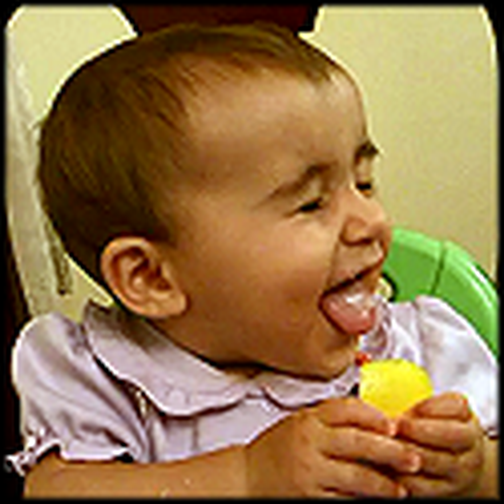 Baby Eating a Lemon Will Make Your Day - So Cute