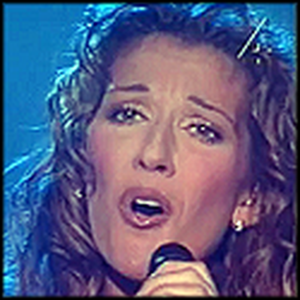 Celine Dion Sings 'O Holy Night' - Simply Incredible