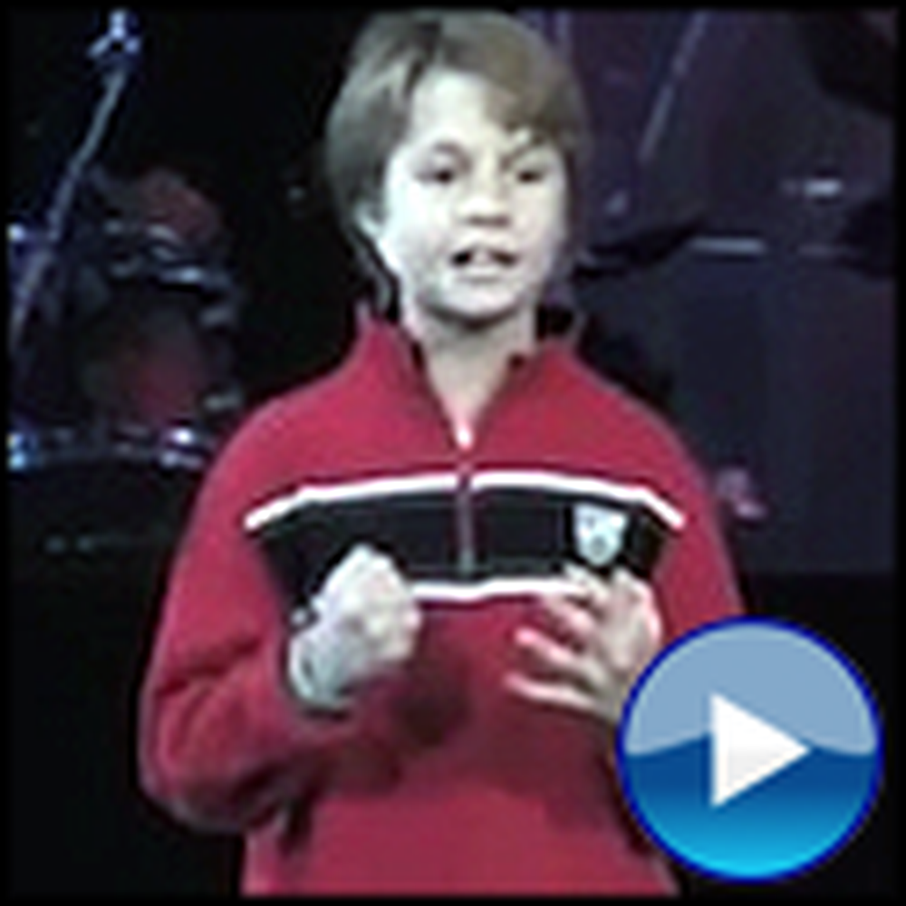 Boy Reveals Jesus in Every Book of the Bible