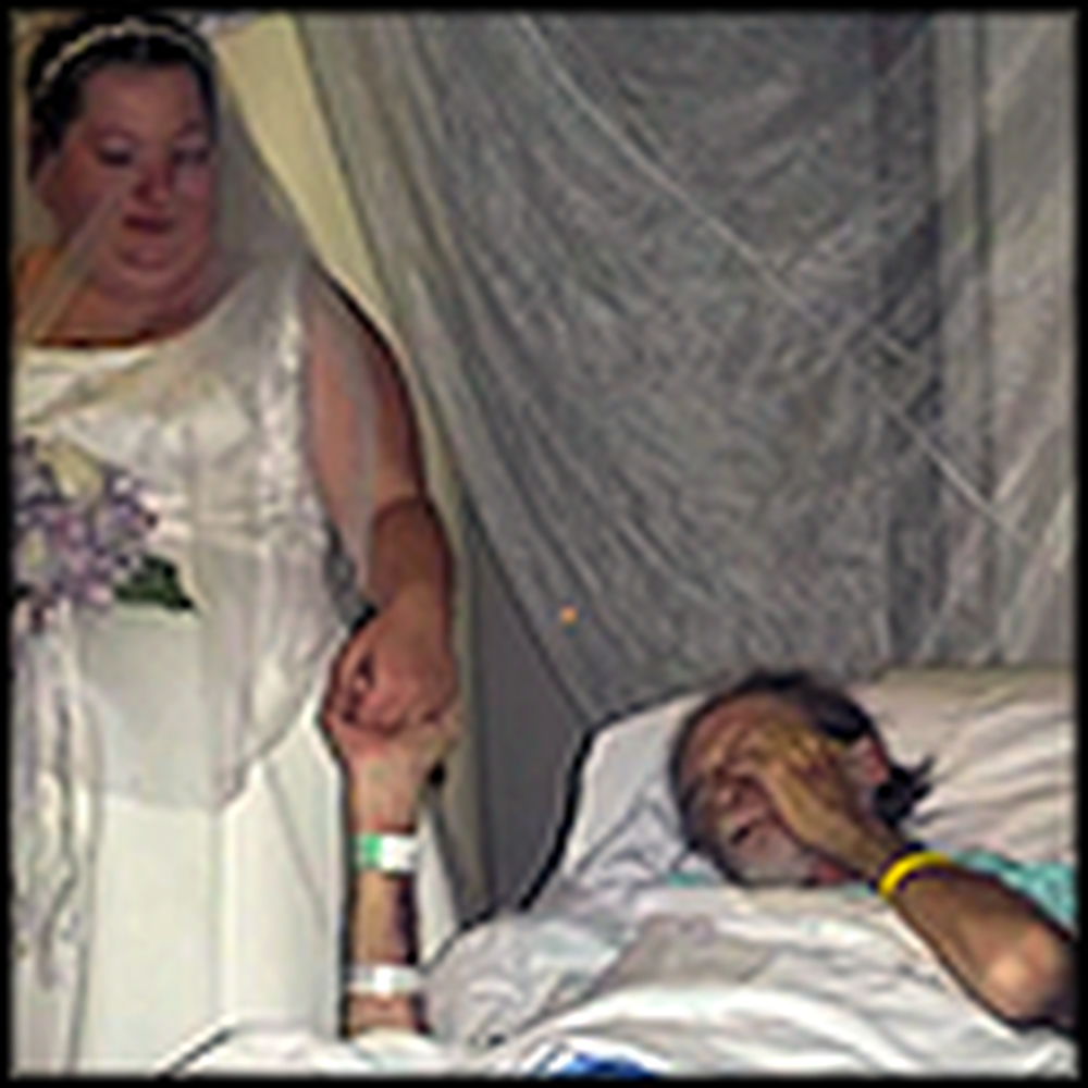Hospital Throws a Wedding for Dying Patient