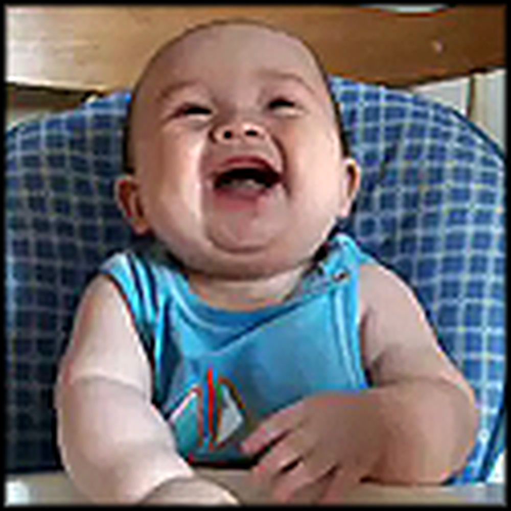 Just a Happy Laughing Baby to Make You Smile