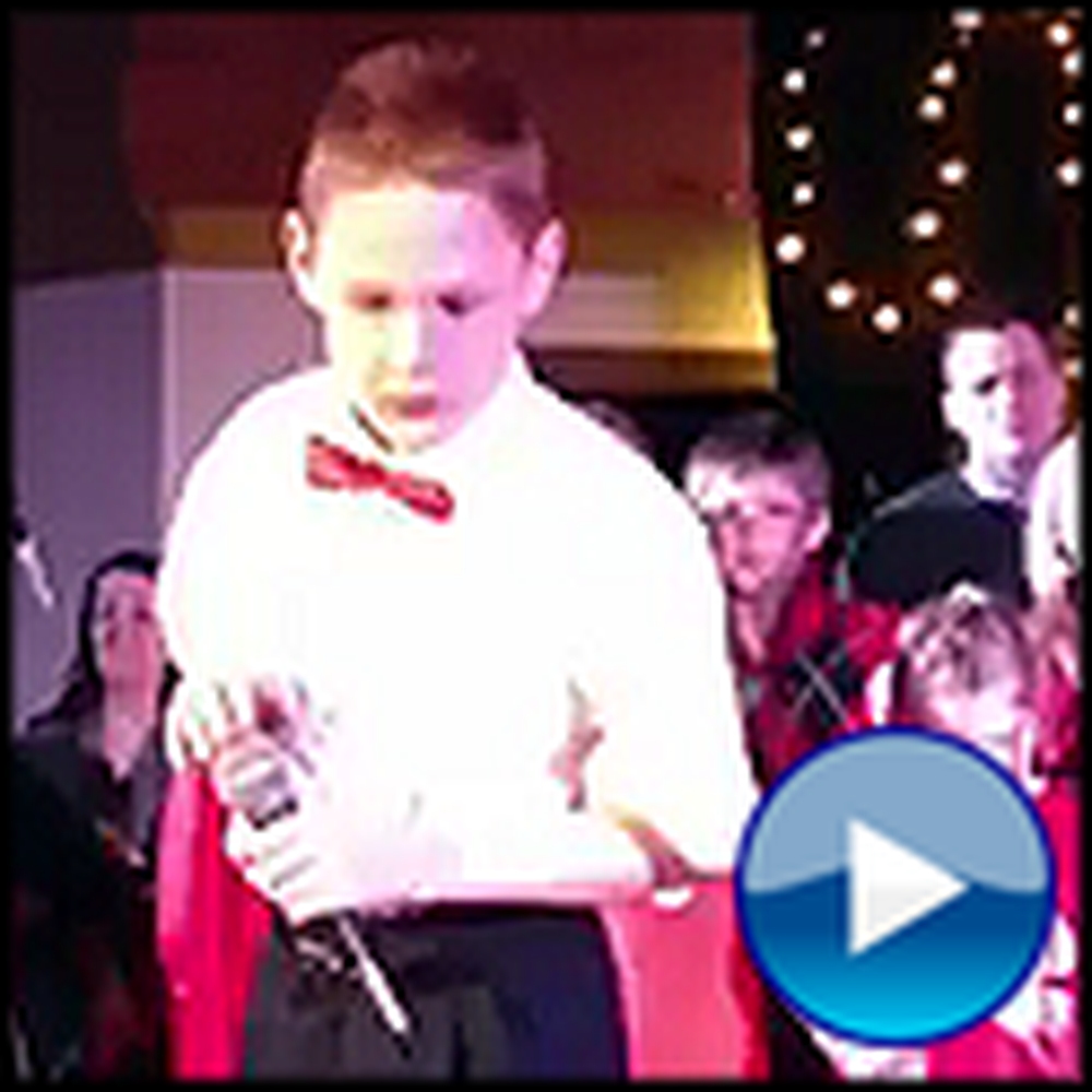 10 Year Old Blind Boy with Autism Sings O Holy Night - Amazing