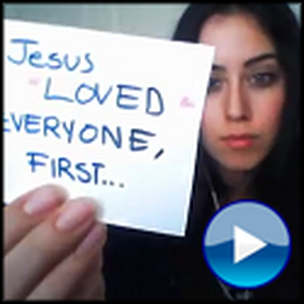 Start the Love - a Girl's Awesome Appeal to All Christians