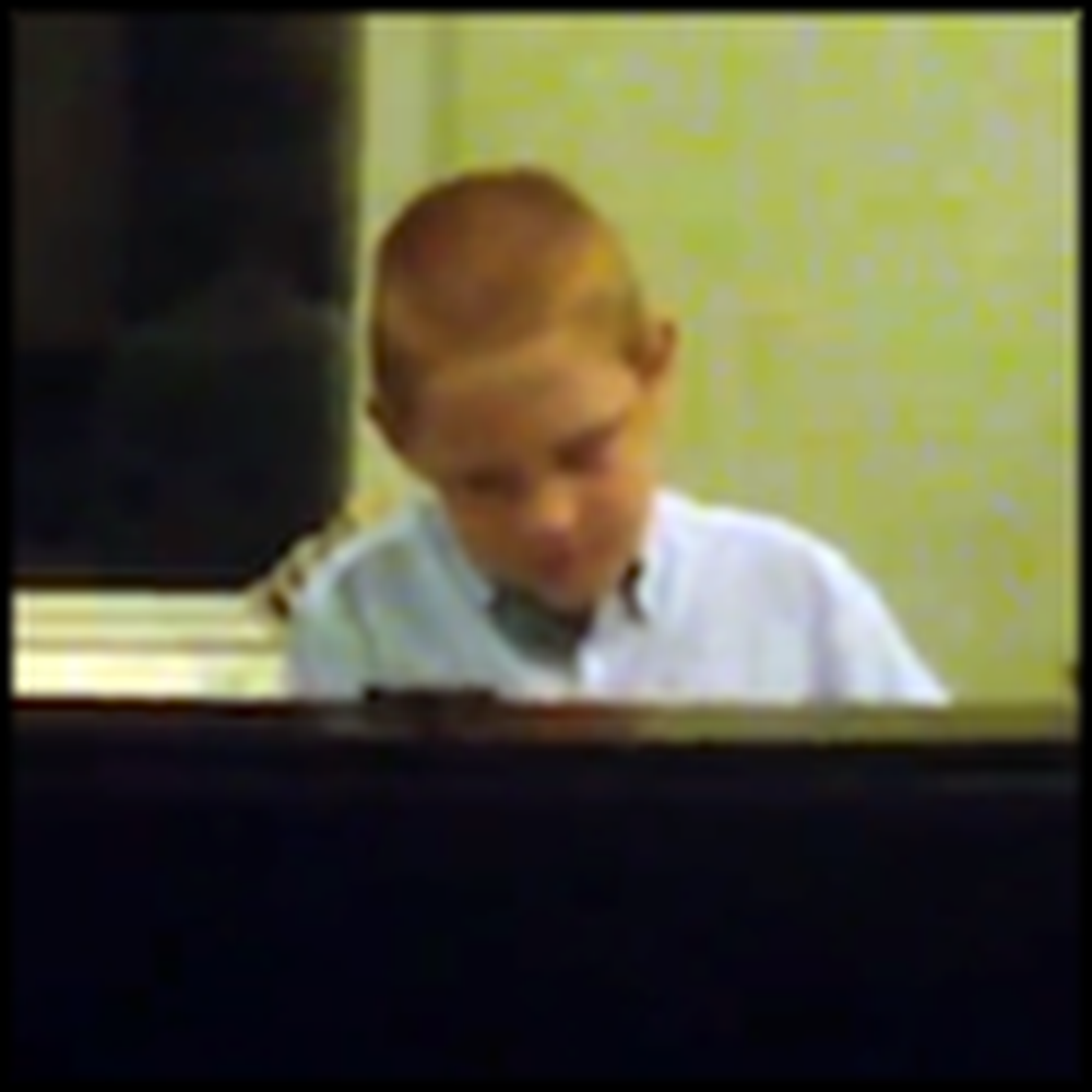 Blind Boy with Autism Sings Your Grace is Enough