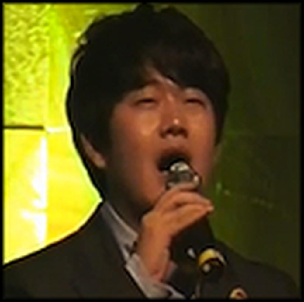 Formerly Homeless Boy in Korea Sings Amazing Grace