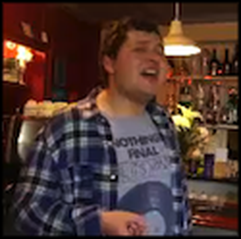 Boy with Autism Sings his Song Live and in Perfect Pitch