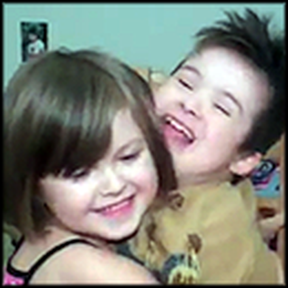 Little Girl Makes a Beautiful Video for her Brother with Down Syndrome