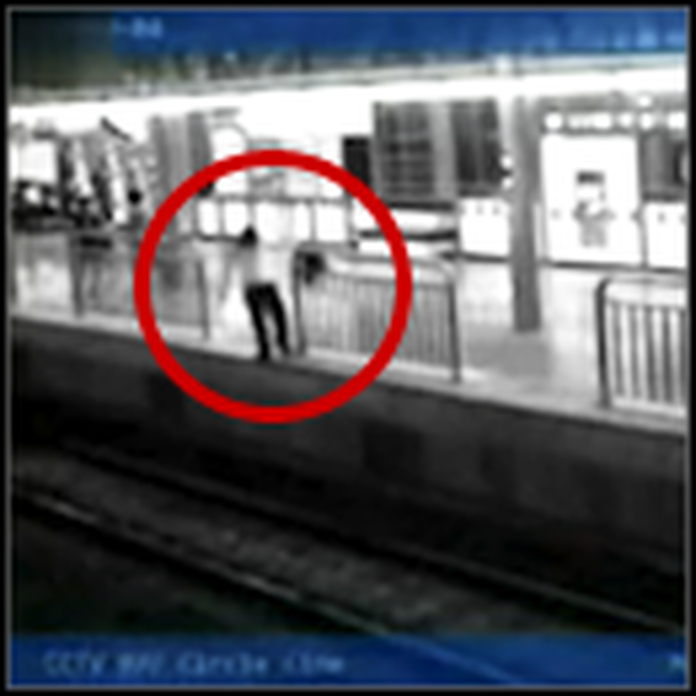 A Breathtaking Save After a Woman Falls in Front of a Train - Wow