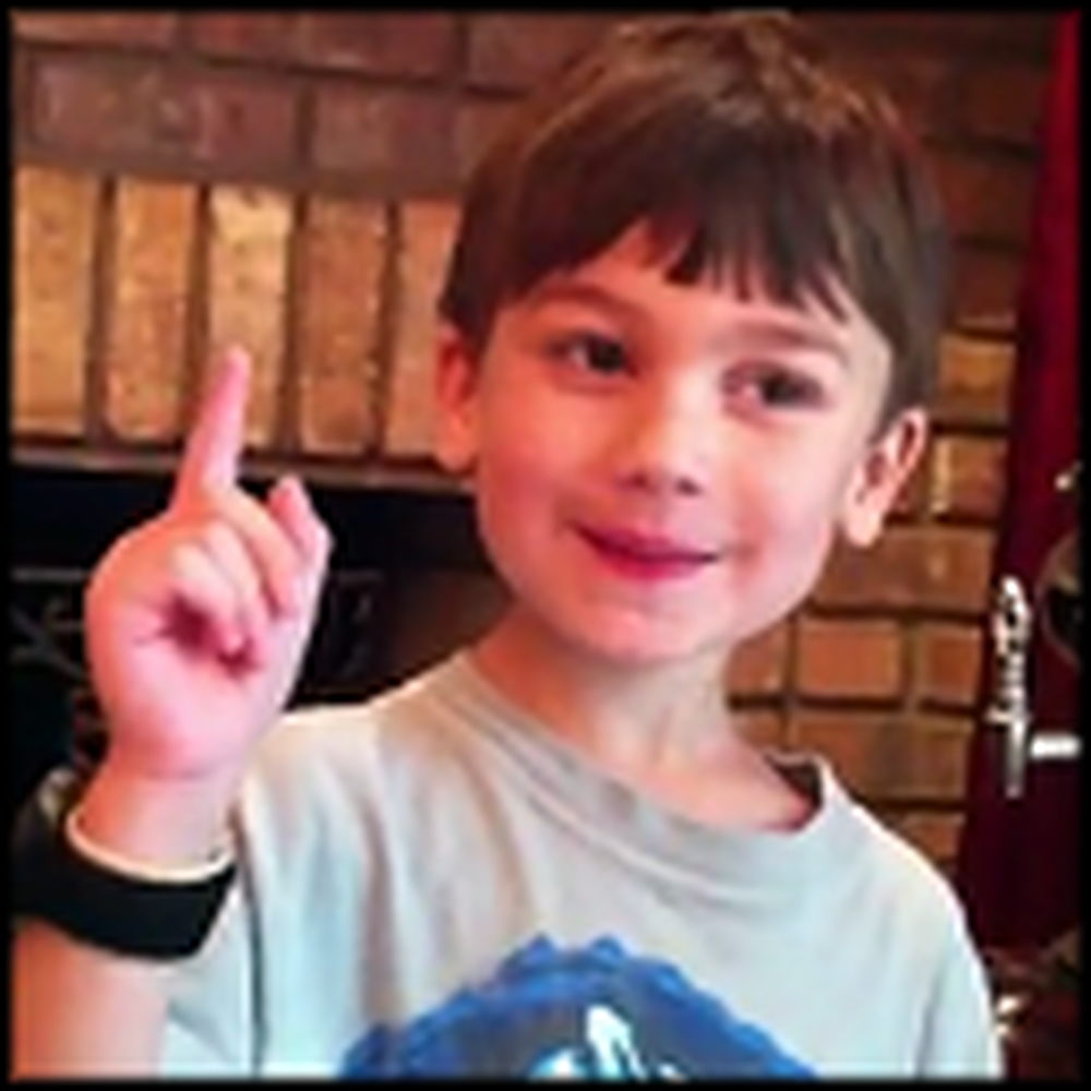 Adorable 5 Year Old Boy Says the 10 Commandments