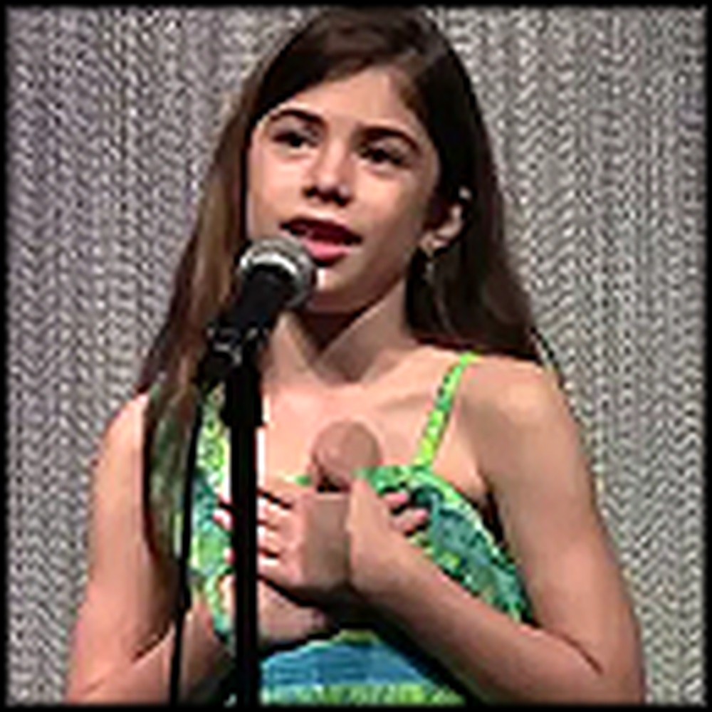 Young Girl Sings How Great Thou Art