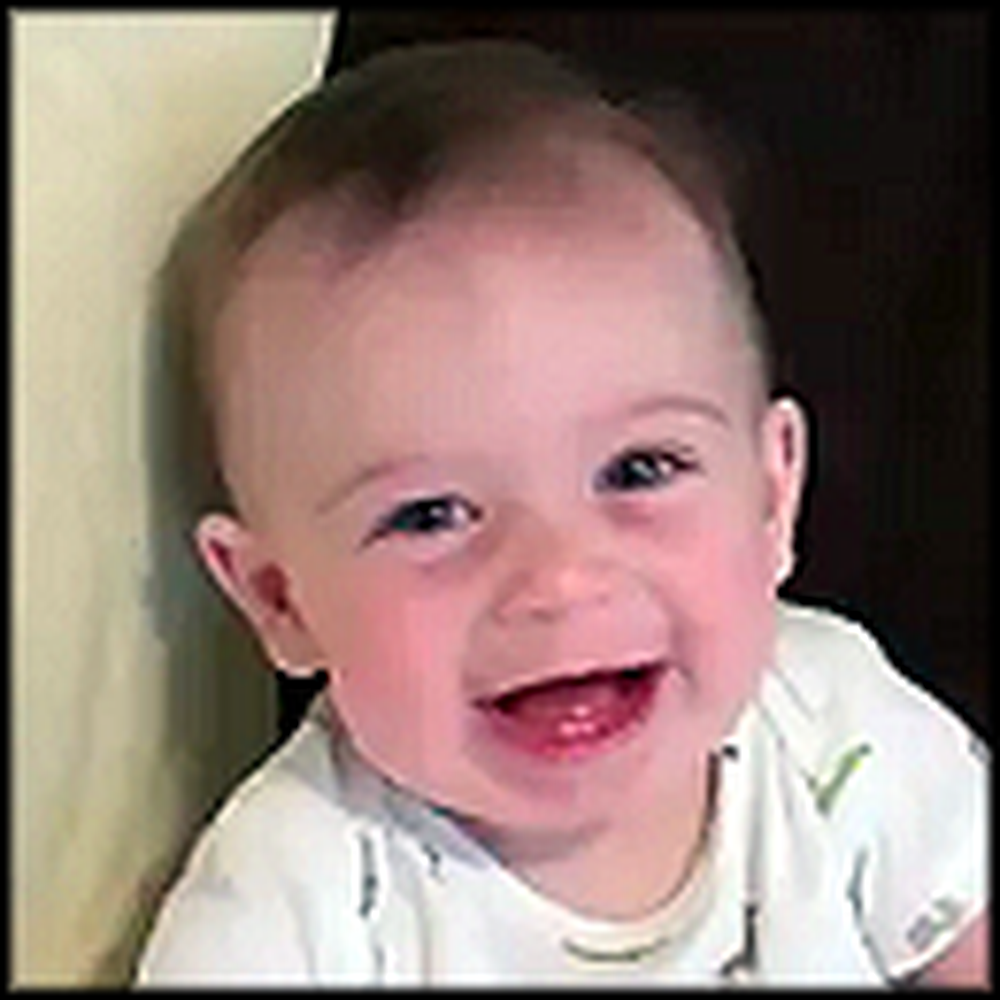 Baby Finds Dad's Comedy Absolutely Hilarious