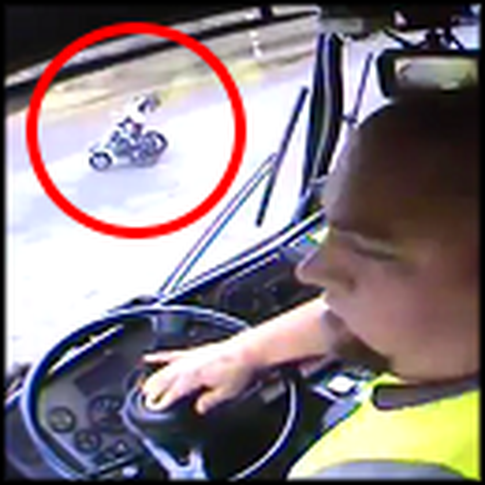 Garbage Truck Driver Saves a Baby in a Runaway Stroller