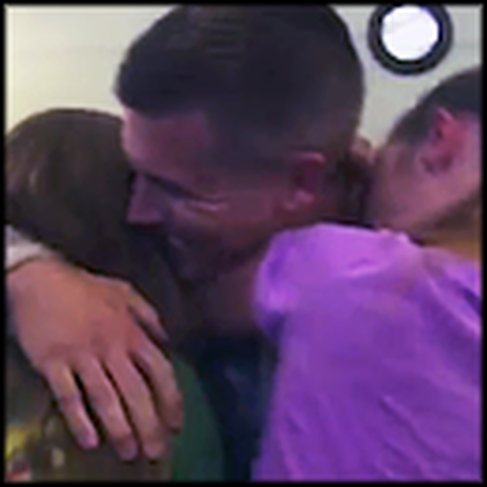 An Air Force Colonel Surprises His Family at Summer Camp
