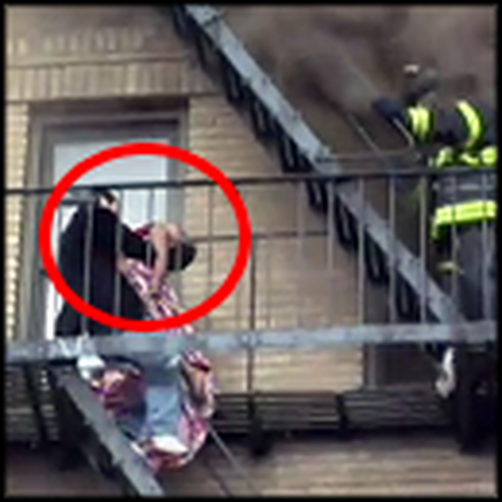 Video Captures Heroic Man Risking it All to Save a Boy
