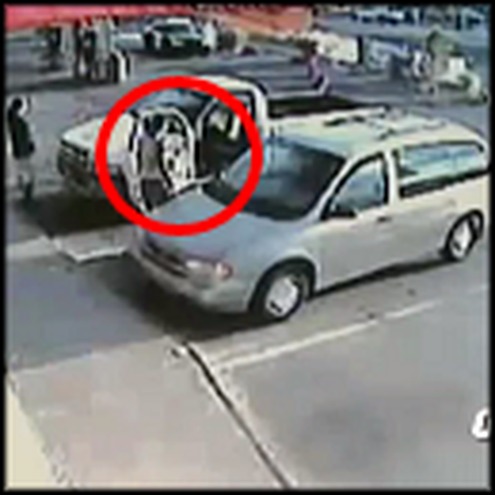 Woman Miraculously Saves 2 Kids From a Runaway Vehicle