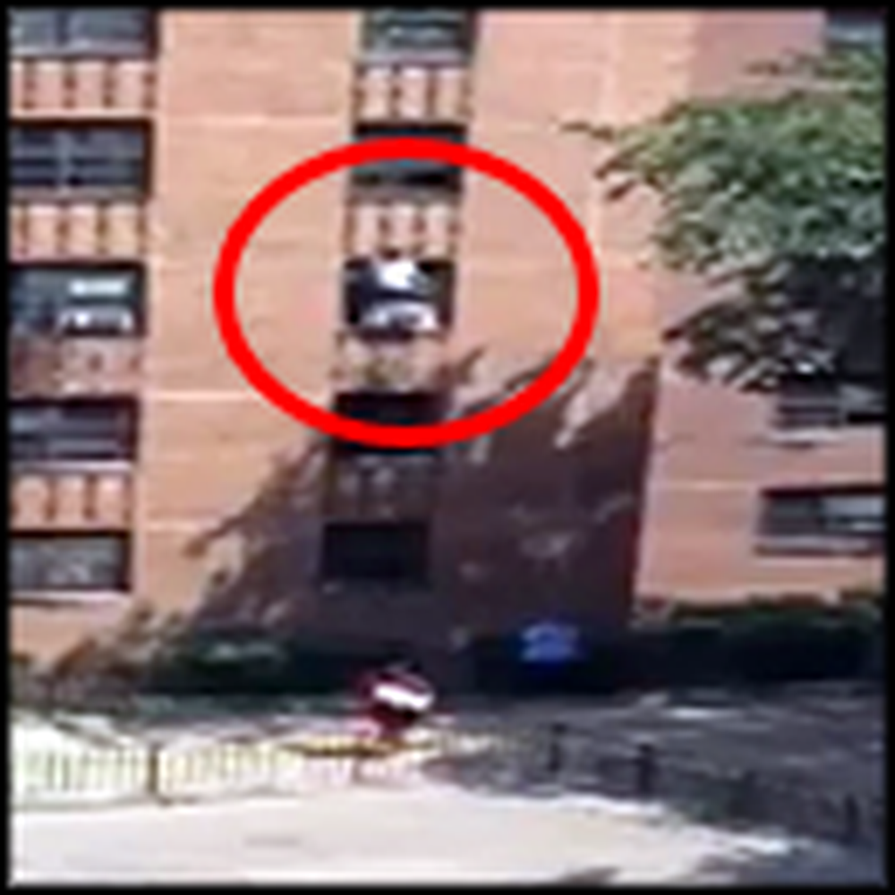 Heroic Man Catches a 7 Year Old Autistic Girl from a 3 Story Fall