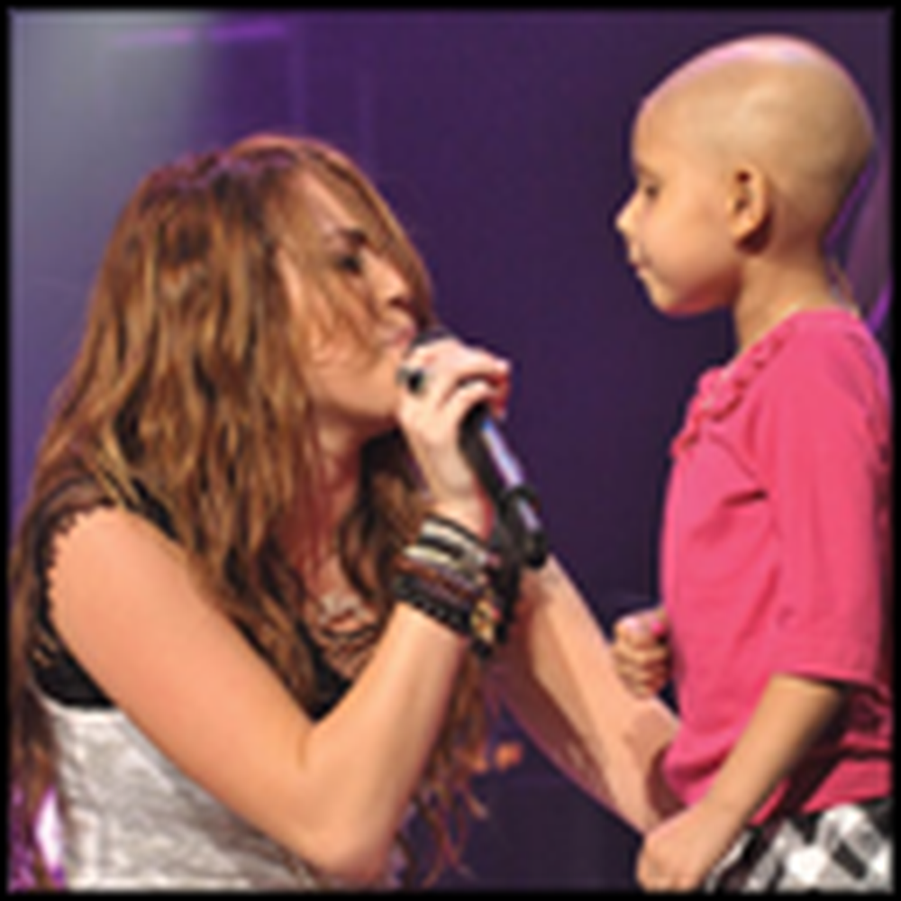 Little Girl Dying of Cancer Has Her Dream Come True on Stage