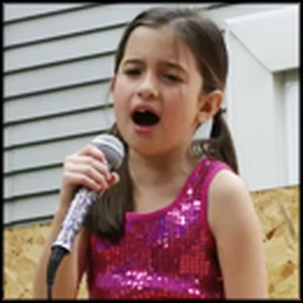 8 Year Old Girl Beautifully Sings Hallelujah - What a Voice