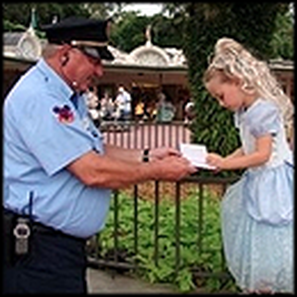 How a Security Guard Made the Day of a Little Princess