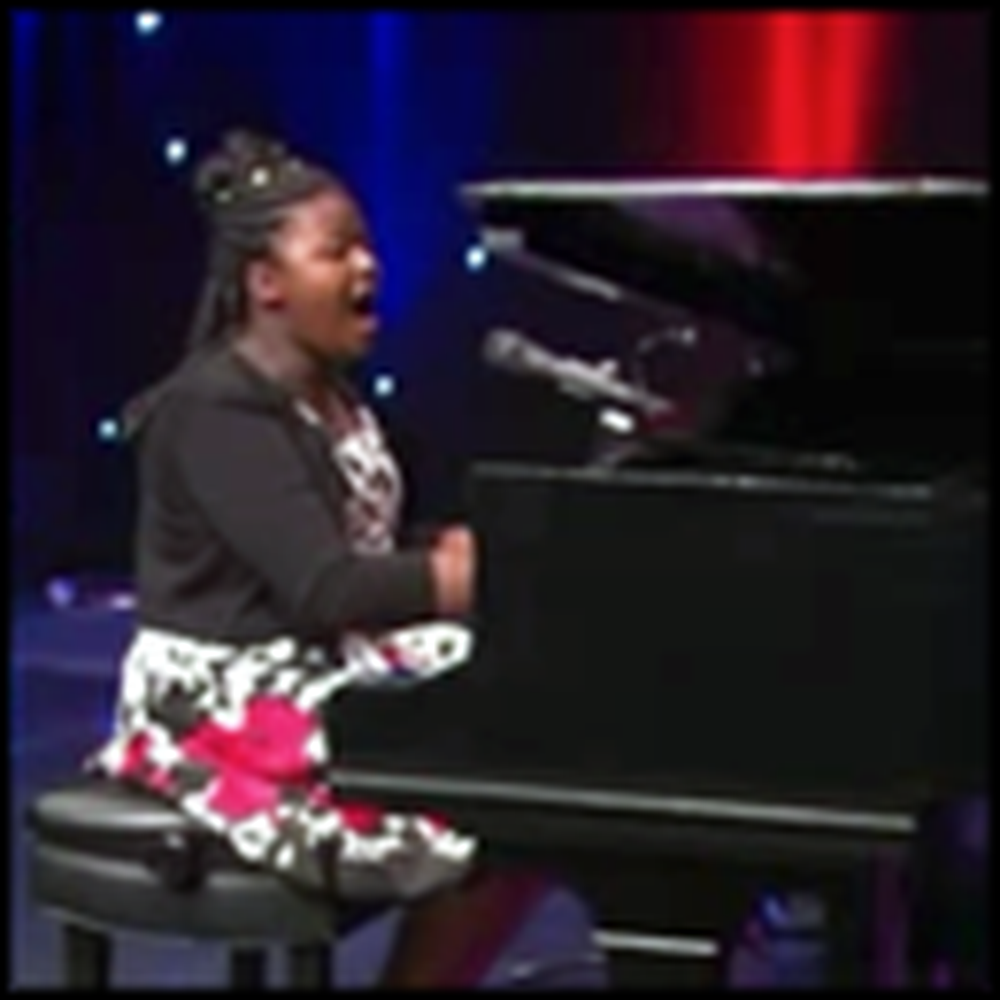 11 Year Old Has a Unique Voice You Need to Hear to Believe