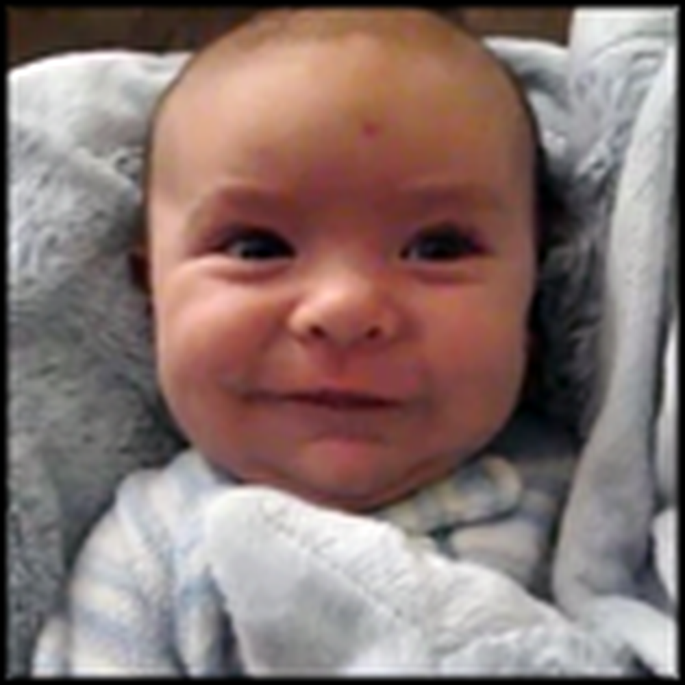 You Have To See What This Baby Does When He Wakes Up