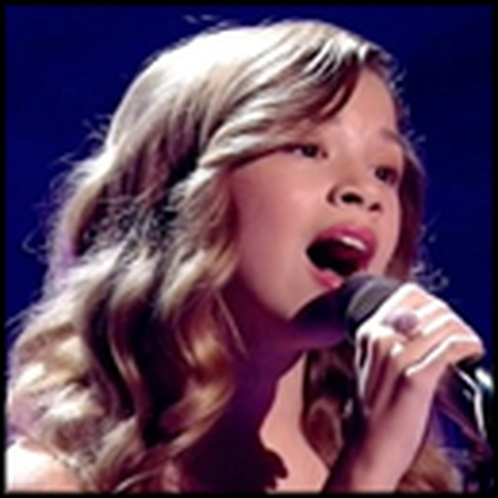 Little Girl Has a Voice No One Could Believe - WOW!