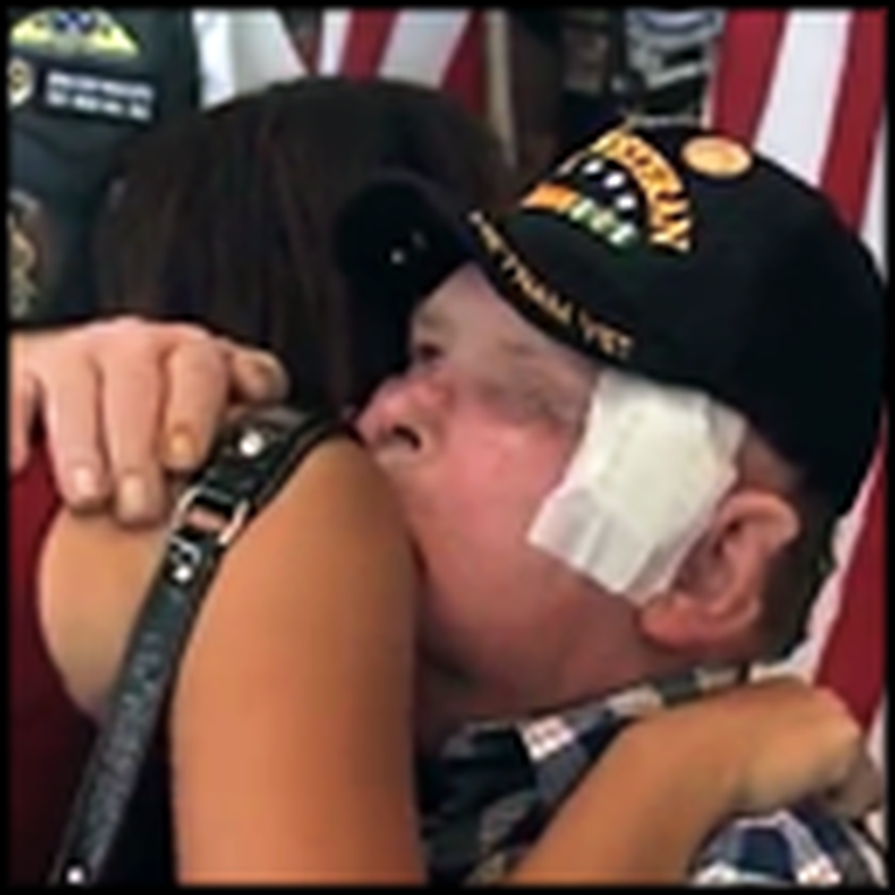 Dying Veteran's Patriotic Last Wish Comes True