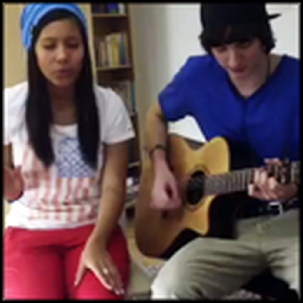 Extremely Talented Duo Covers God Bless the Broken Road