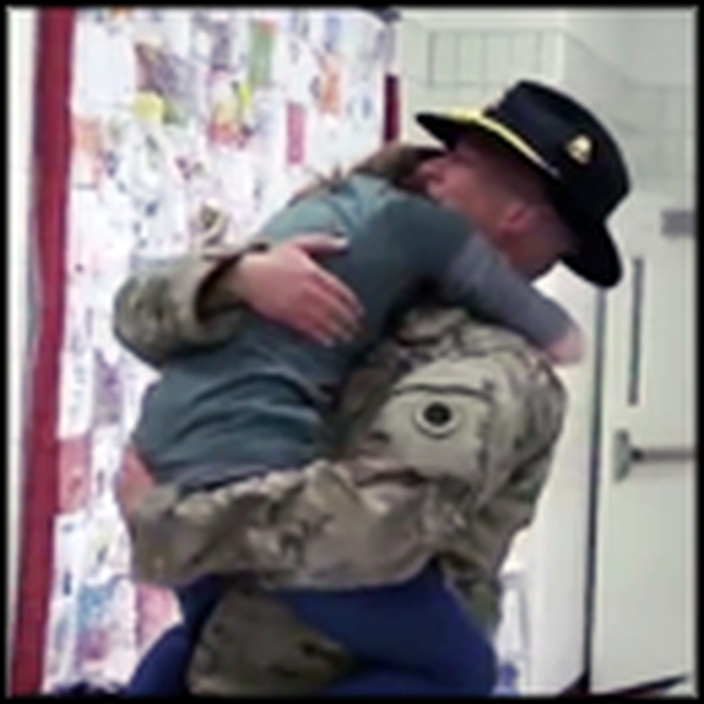 Heartwarming Surprise Reunion is Just TOO Sweet