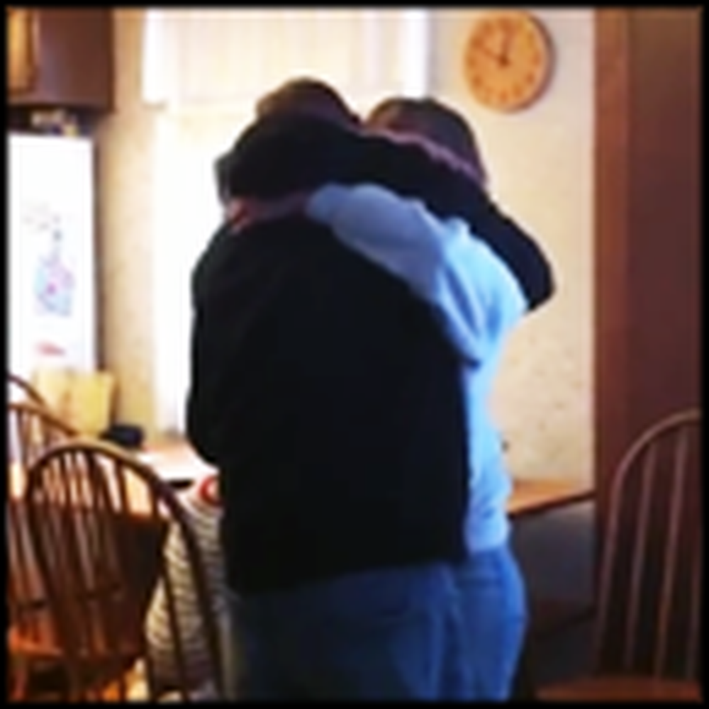 A Mother Gets the BEST Christmas Surprise She Ever Could