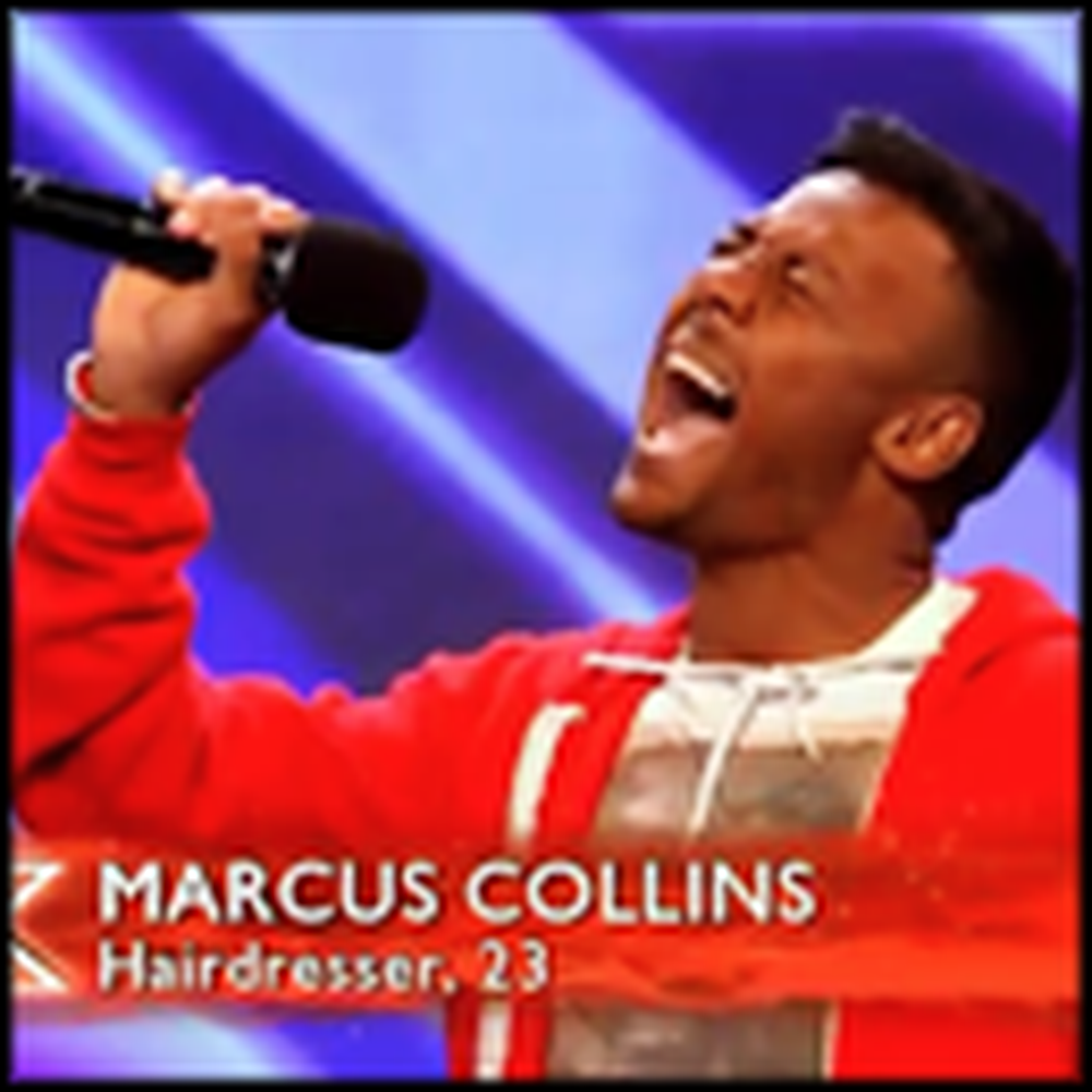 Hairdresser Blows the Judges Away With His Stevie Wonder Cover Song