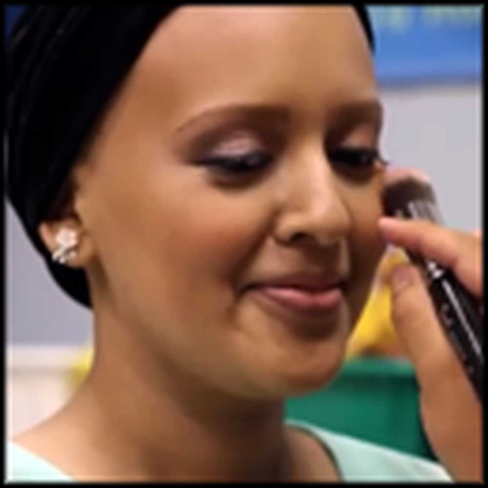 Celebrity Makeup Artists Make a Cancer Patient Feel Beautiful