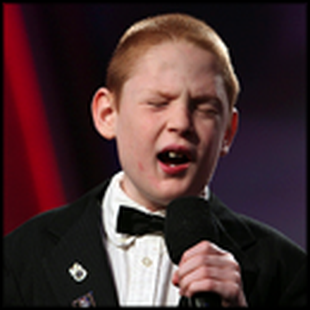 Autistic Boy Born From Cocaine Addict Sings His Heart Out