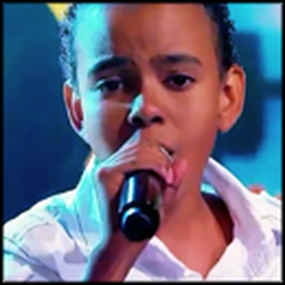Child Singing Sensation Jotta Performs Oh Happy Day