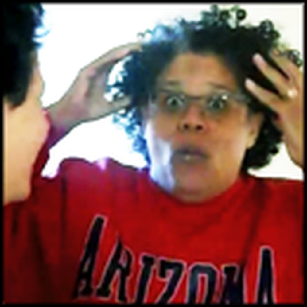 Daughter Surprises Her Mother Before Thanksgiving - Insane Reaction