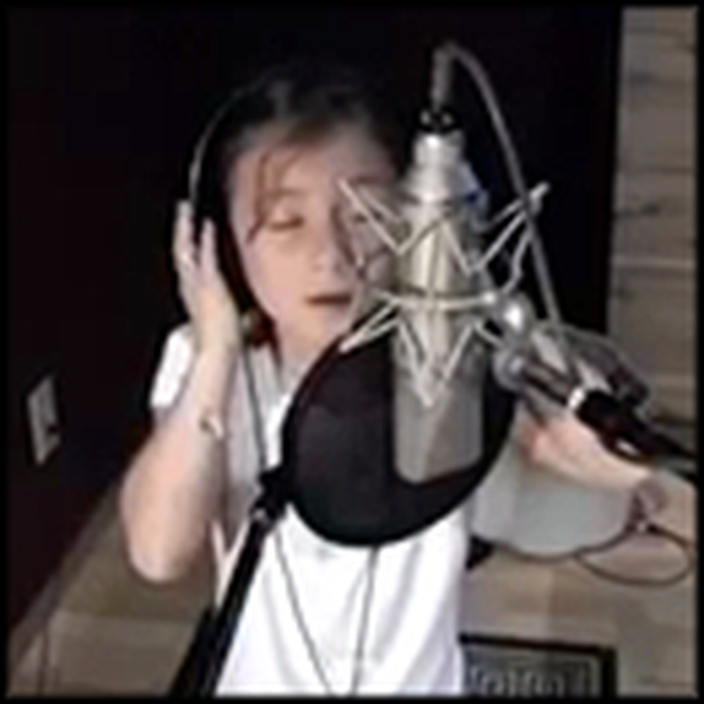 Amazing Child Singer Rhema Marvanne Performs The Prayer